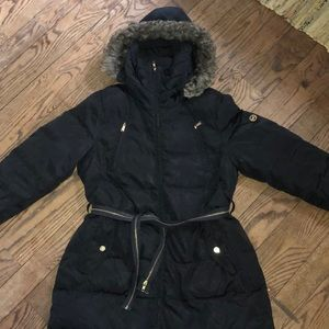 Michael Kors puffer coat jacket ski black xlarge